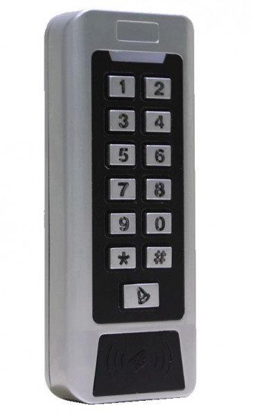 YK-768. Металлическая кодовая панель со считывателем карт Em-Marine.