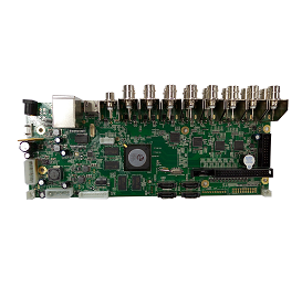 AHB7016T4-GS-V3. 16CH 4MP AHD DVR Board(V3)