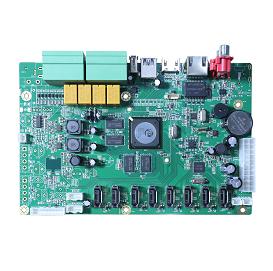 NBD8064H8-P. 24ch5M/36ch4M/64ch1080P NVR Board