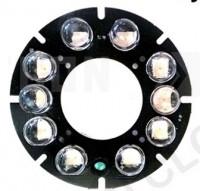 IR10LED.M12.60. ИК подсветка для камер