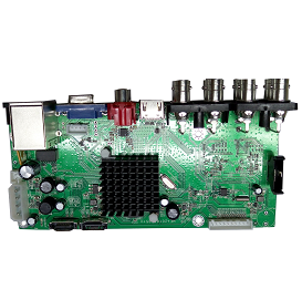 AHB7808R-MS-V3. Economic type 8 1080N AHD DVR Board(V3)