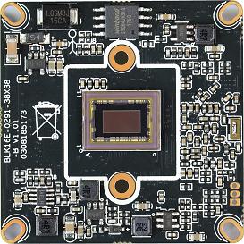 IPG-85HE20PY-S. 2.0M Black light illumination H.265 IPC Module