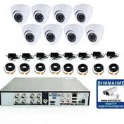 12300р. HD720P. Комплект видеонаблюдения на 8 внутренних HD720P камер.