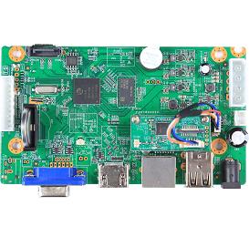 NBD8004RA-FWS. 4ch 960P H.265 WiFi NVR Board