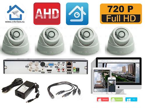 KIT4AHD300W720P. Комплект видеонаблюдения на 4 HD720P камер.