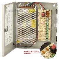SAF-1209-5A. Блок питания для видеонаблюдения. 9 выходов, 12В, 5А.