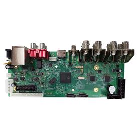 AHB7008T-MH-V3. 8ch 1080P AHD DVR Board(V3)