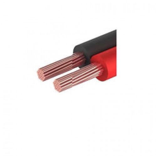 01-6102-6. Кабель акустический, 2х0.35 мм², красно-черный, 100 м.