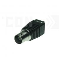 SAF-BNC-01 (папа). Разъем BNC для систем видеонаблюдения.