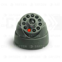 SAF-310MD (Серый)-2. Муляж купольной камеры с диодом (под АА 2шт)