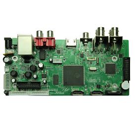 AHB7004T-H-V2. 4 ch 1080P AHD DVR Board(V2)