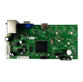 NBD7816R-F-V2. 4ch5M/16ch1080P/16ch960P NVR Board(V2)