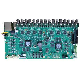 AHB7032F2-GS-V3. 32ch 4MP AHD DVR Board(V3)