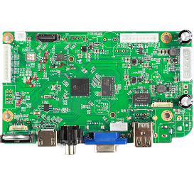 NBD8008R-PL(EP). 8ch 1080P POE Extension H.265 NVR Board