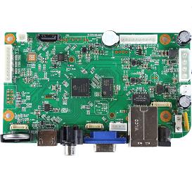 NBD8016R-UL. 16ch 5.0MP H.265 NVR Board