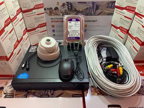 KIT1AHD310W720P. Комплект AHD видеонаблюдения на 1 внутреннюю камеру HD720P