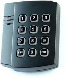 Matrix-4 EH Keys считыватель EM Marine/HID PROX-2  с клавиатурой.