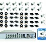 27260р. HD720P. Комплект видеонаблюдения на 16 уличных HD720P камер.