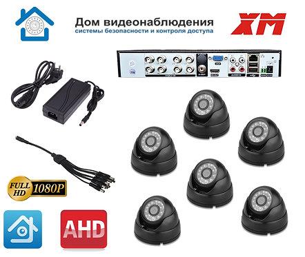 KIT6AHD300B1080P. Комплект видеонаблюдения на 6 внутренних 1080P камер.