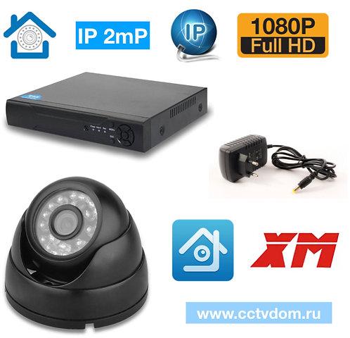 KIT1IP300B1080P. IP комплект видеонаблюдения на 1 внутреннюю камеру 2мП 1080P
