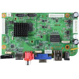 NBD8025R-UL. 16ch 5.0MP H.265 NVR Board