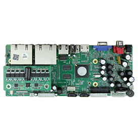 NBD7908T-Q. 4ch3M/8ch3M NVR Board (POE).  8 POE ports Support POE power