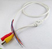 CAVPW.OSD. Кабель для аналоговых камер с OSD меню (Белый/11pin).