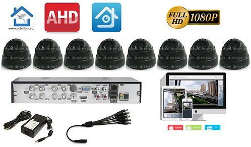KIT8AHD300B1080P. Комплект видеонаблюдения на 8 Full HD камер