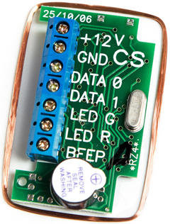 RZ4. Модуль считывателя EM, HID Prox II, ibutton, W26
