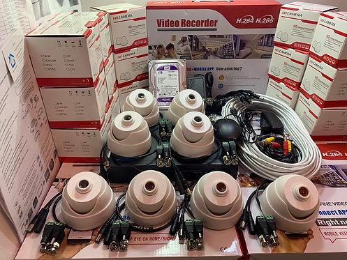 KIT8AHD310W720P. Комплект видеонаблюдения на 8 внутренних камер HD720P