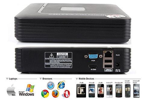 1004D. 4-х канальный IP видеорегистратор