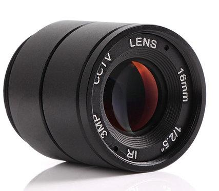 CCTV Lens 4mm, F1.2. Объектив CS с фокусным расстоянием 4мм.