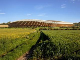 Estádio de madeira?
