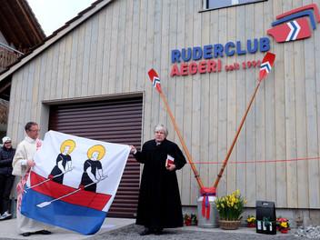 Anrudern / kleine Eröffnungsfeier neues Bootshaus