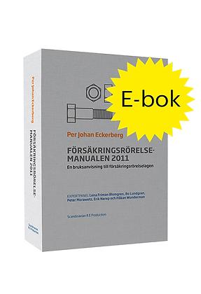 FörsäkringsrörelseManualen 2011, e-bok