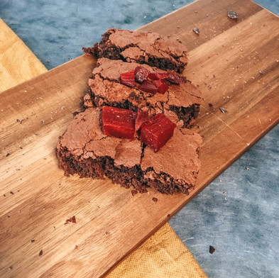 Rode Biet Brownie