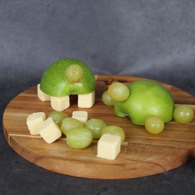 Koken met kinderen: fruitschildpad