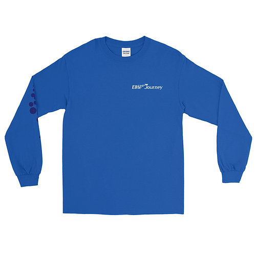 EJ Long Sleeve Shirt Blue