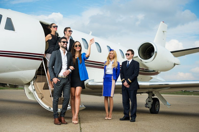 Private Jet Hire On The Increase