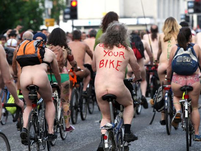 Manchester naked bike ride: Hundreds expected to streak through city's streets for annual cycle
