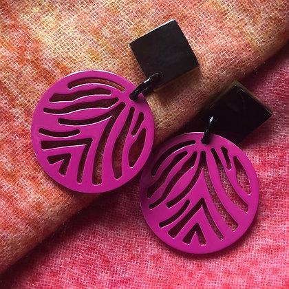 Zebra Earrings- sale