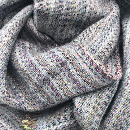 Rainbow Cashmere scarf