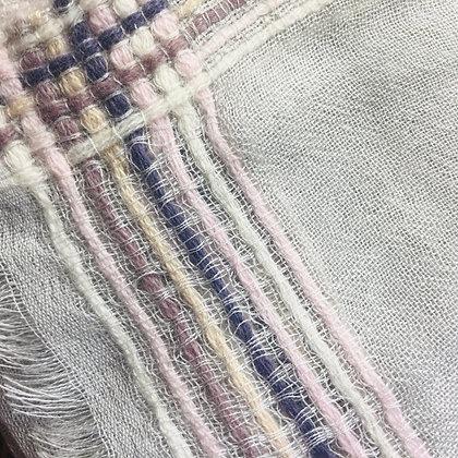 Cashmere shawl-woven border