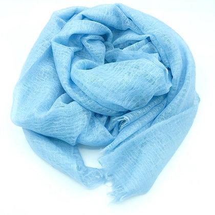 Cloud cashmere shawl
