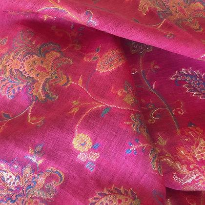 Silk maxi shawl