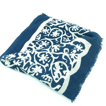 Arabesque cashmere stole
