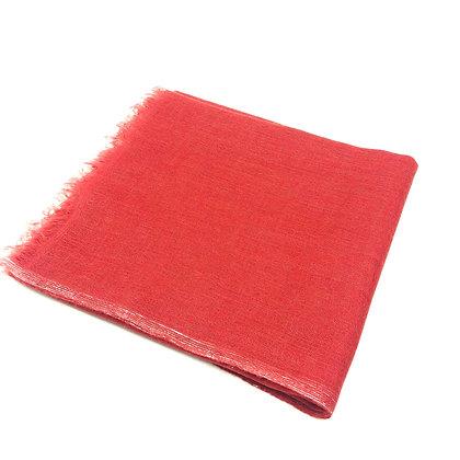 Sheer cashmere veil