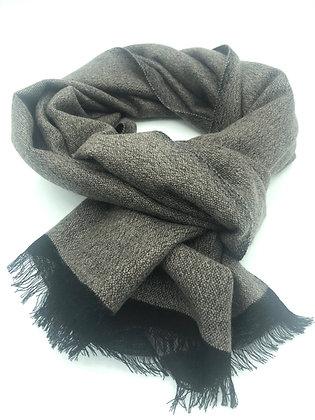 Merinos and yak wool scarf