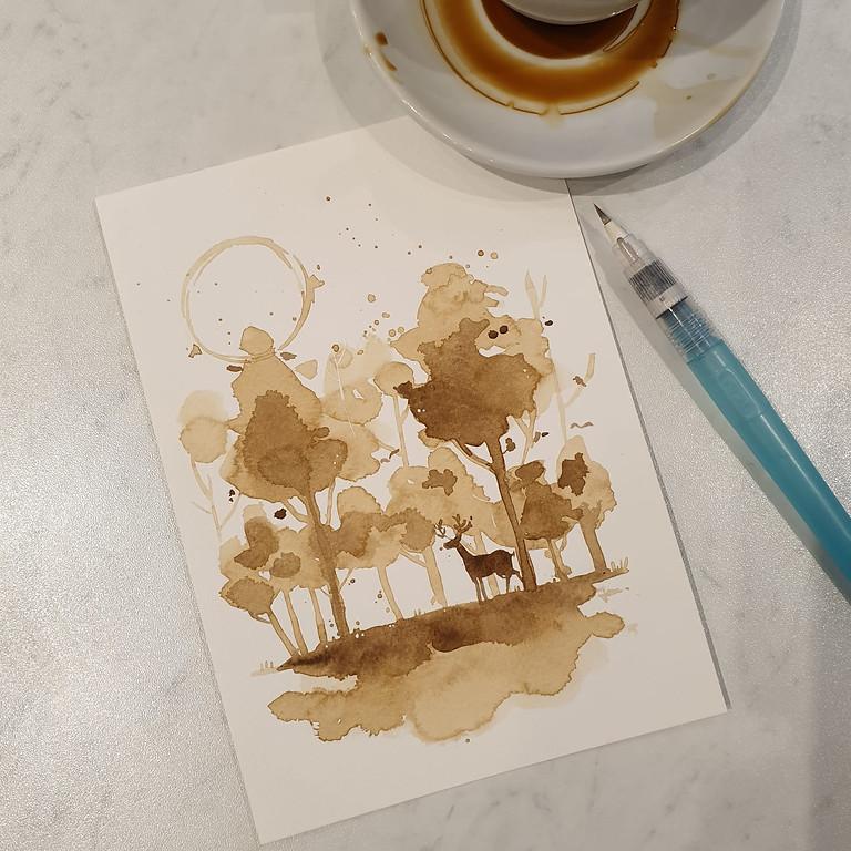 James.ek Coffee Painting Workshop!