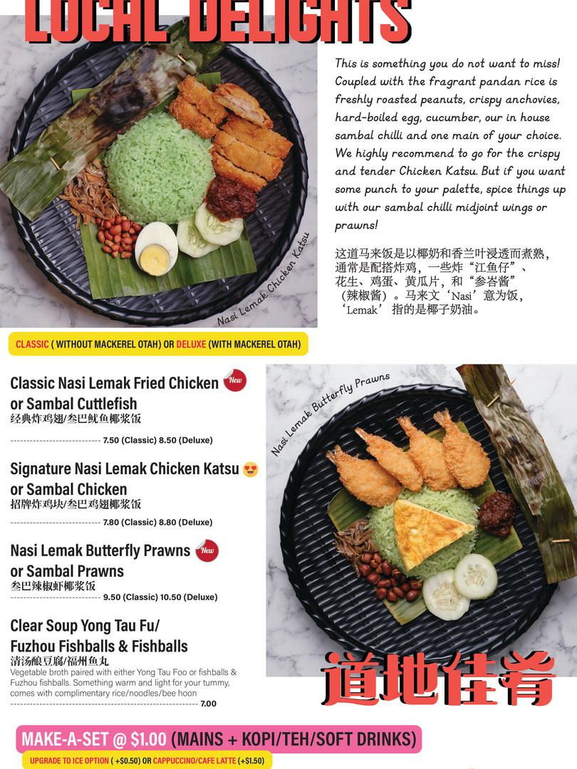 Hotfood Menu 2019